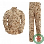 Костюм ACU MARPAT DESERT cotton
