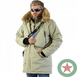 Аляска APOLLOGET EXPEDITION SILVER GREEN/MILITARY OLIVE